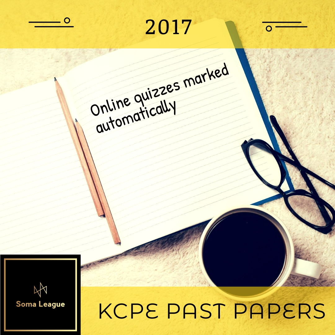 2017 KCPE Past Papers