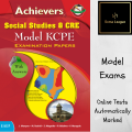 Achievers SST & CRE KCPE Model Examination Questions