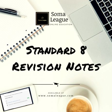 Standard 8 Revision Notes
