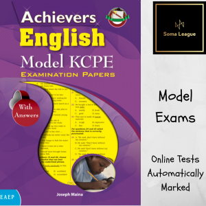 Achievers English Model Papers