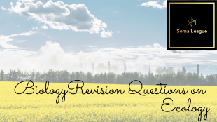 Biology revision questions on Ecology-3